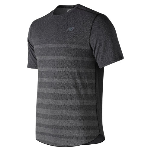 New Balance Q Speed Jacquard Short Sleeve Boy's Performance - MT83250BKH