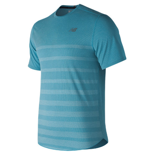 New Balance Q Speed Jacquard Short Sleeve Boy's Performance - MT83250CDH