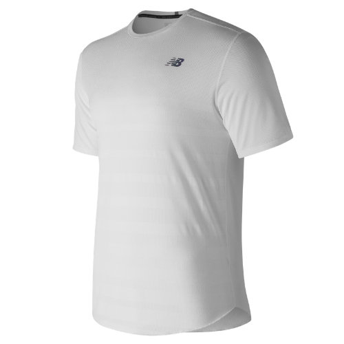 New Balance Q Speed Jacquard Short Sleeve Boy's Performance - MT83250WTH