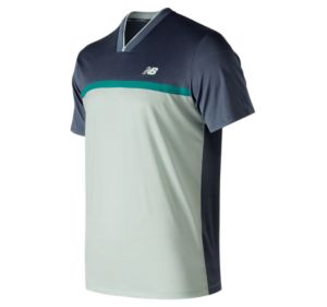 뉴발란스 New Balance Mens Tournament Top,Vintage Blue