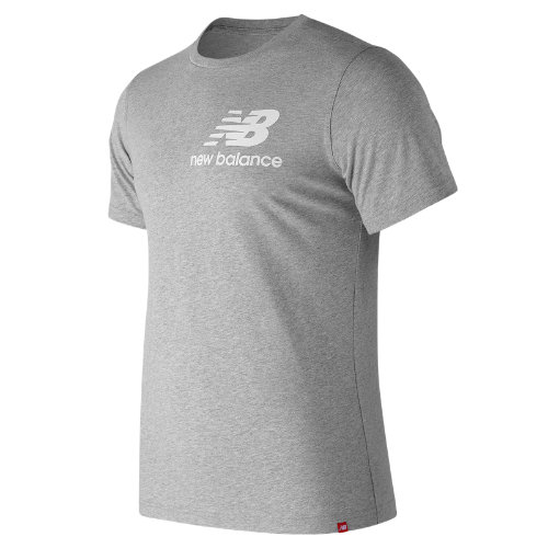 New Balance Essentials Slack Tee - Athletic Grey (Taille S)