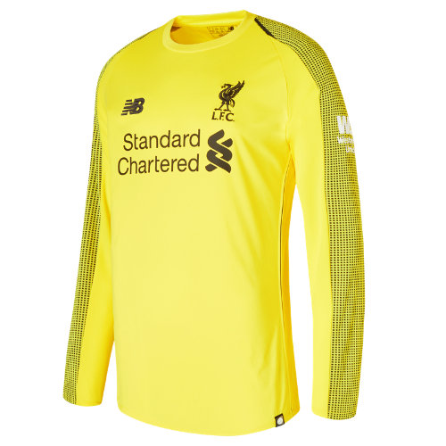 New Balance LFC Home GK Long Sleeve Jersey Boy's All Accessories - MT839001VIP