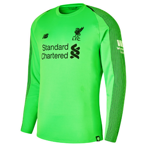 New Balance LFC Away GK Long Sleeve Jersey Boy's 2018/19 Away Kit - MT839007VDC