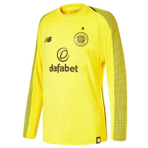 New Balance Celtic FC Home GK Long Sleeve Jersey Boy's Over €100 - MT839022VIP