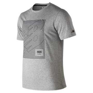 Men's HD Heathertech T, Athletic Grey