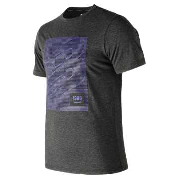 Men's HD Heathertech T, Black Heather