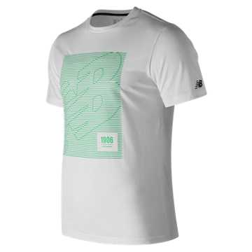 Men's HD Heathertech T, White