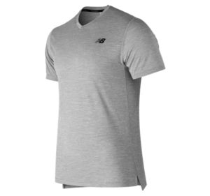 뉴발란스 New Balance Mens Tenacity V Neck,Athletic Grey