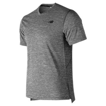 Men's Tenacity V-Neck , Heather Charcoal