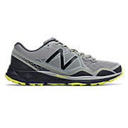 910v3 Trail, Grey with Yellow