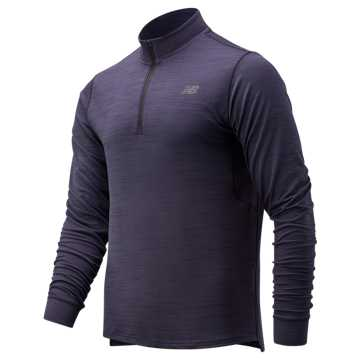 Men's Anticipate 2.0 Quarter Zip , Eclipse
