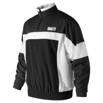 Men's NB Athletics Windbreaker Pullover , Black