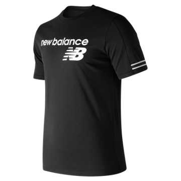 Men's NB Athletics Heritage T, Black
