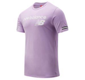 뉴발란스 New Balance Mens NB Athletics Heritage Tee,Violet