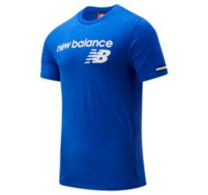 뉴발란스 New Balance Mens NB Athletics Heritage Tee,Team Royal