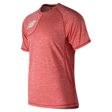 Men's Tenacity Asym Tee, Team Red
