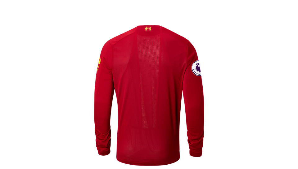 004d1d61b Camiseta Manga Larga New Balance Liverpool FC Home LS Jersey EPL ...