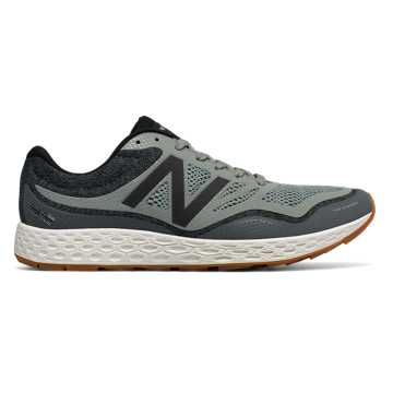 New Balance Fresh Foam Gobi Trail, Moss Green with Grey