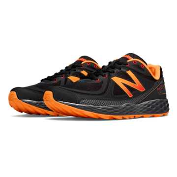 New Balance Fresh Foam Hierro, Black with Orange
