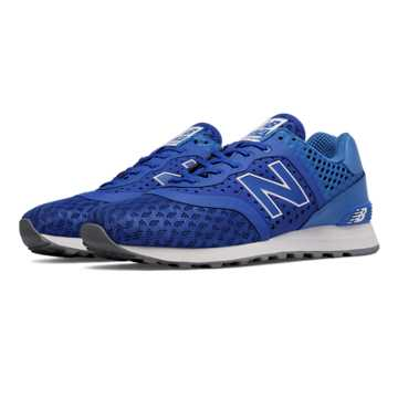 New Balance 574 Re-Engineered, Blue with Sky