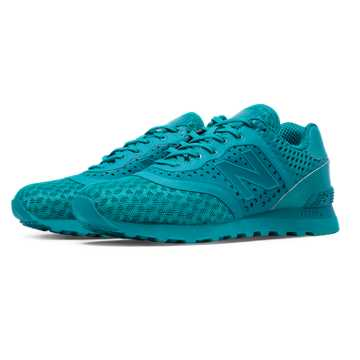 New Balance 574 Re-Engineered Breathe Solid, Teal