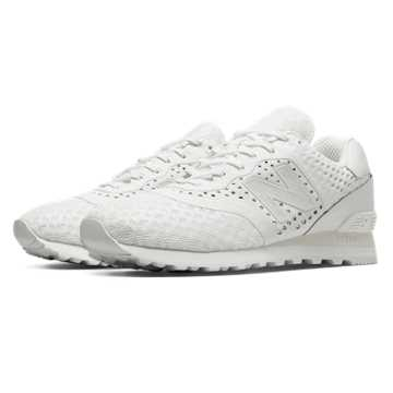 New Balance 574 Re-Engineered Breathe Solid, White