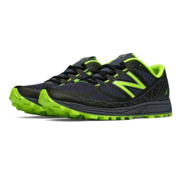 New Balance Vazee Summit Trail, Black with Toxic & Thunder