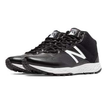 New Balance Mid-Cut 950v2, Black with White