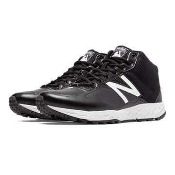 New Balance Mid-Cut 950v2, Black with White