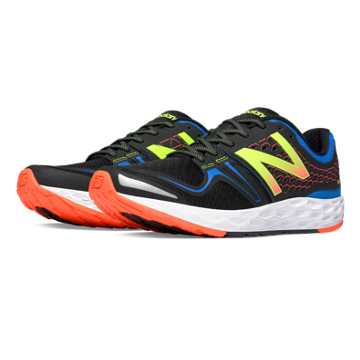New Balance Fresh Foam Vongo, Black with Blue & Impulse
