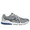 New Balance 665, Silver with Blue