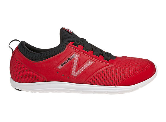 New Balance 735, Red with Black
