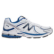 New Balance 775, White with Navy & Blue