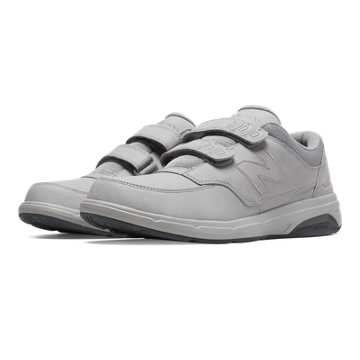 New Balance Hook and Loop 813, Silver Mink with Lead