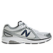 New Balance 847, White with Navy & Silver