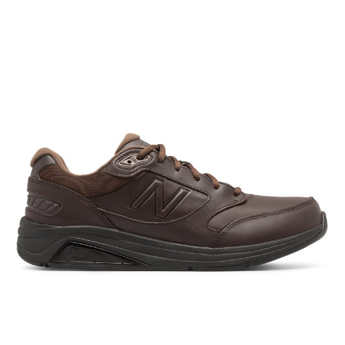 Stable and steady wins the race. The New Balance 928 men s walking shoe features motion control and ROLLBAR stability technologies and ABZORB cushioning for comfort from morning till midnight.