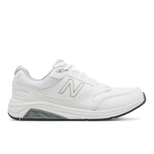 Developed for all-day comfort, the New Balance 928 men s walking shoe offers industry-leading motion control and superior stability thanks to our ROLLBAR and Walking Strike Path technologies. Add to that ABZORB midfoot cushioning, a seamless Phantom Liner and an odor-resistant treatment and you\'ve got a shoe that can take you from 9 to 5 to whenever.
