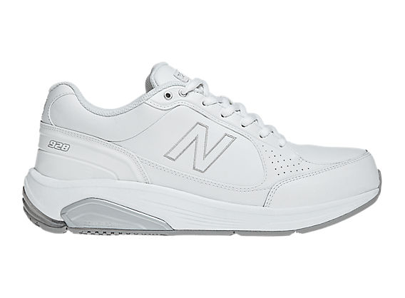 New Balance 928, White with Grey