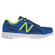 NBGruve 1157, Blue with White & Neon Green