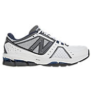 New Balance 1211, White with Silver & Navy