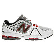 New Balance 1211, White with Black & Red