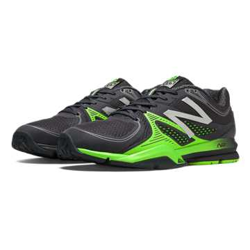 New Balance New Balance 1267, Black with Acidic Green
