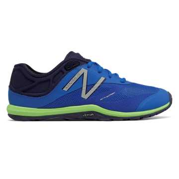 New Balance Minimus 20v6 Trainer, Electric Blue with Dark Denim & Hi-Lite