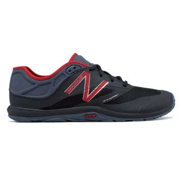 New Balance Minimus 20v6 Trainer, Black with Alpha Red & Thunder