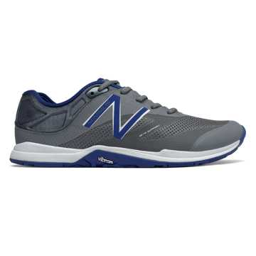 New Balance Minimus 20v5 Trainer, Grey with Blue