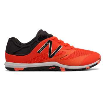 New Balance Exclusive Minimus 20v6 Trainer, Alpha Orange with Black