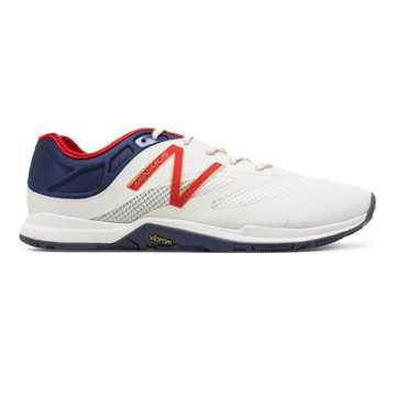 New Balance US Rowing Minimus 20v5 Trainer, Navy with White & Red