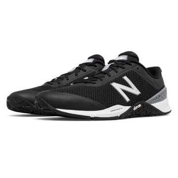 New Balance Minimus 40 Trainer, Black with White