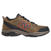 Water Resistant 608v3, Brown with Dark Brown & Red