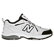 New Balance 608, White with Black